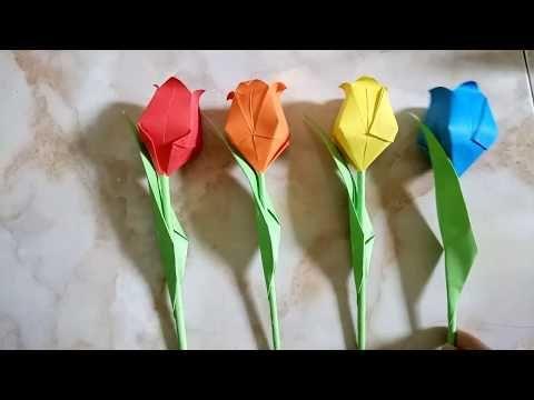 Photo of Origami Flower Tulip