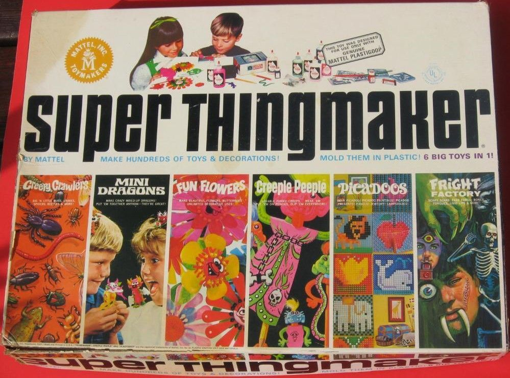 Mattel 1968 Super Thingmaker Set Another Seriously