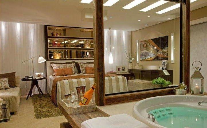 Super Banheiro Integrado ao Quarto! Veja modelos e dicas! | Room Decor  AM64