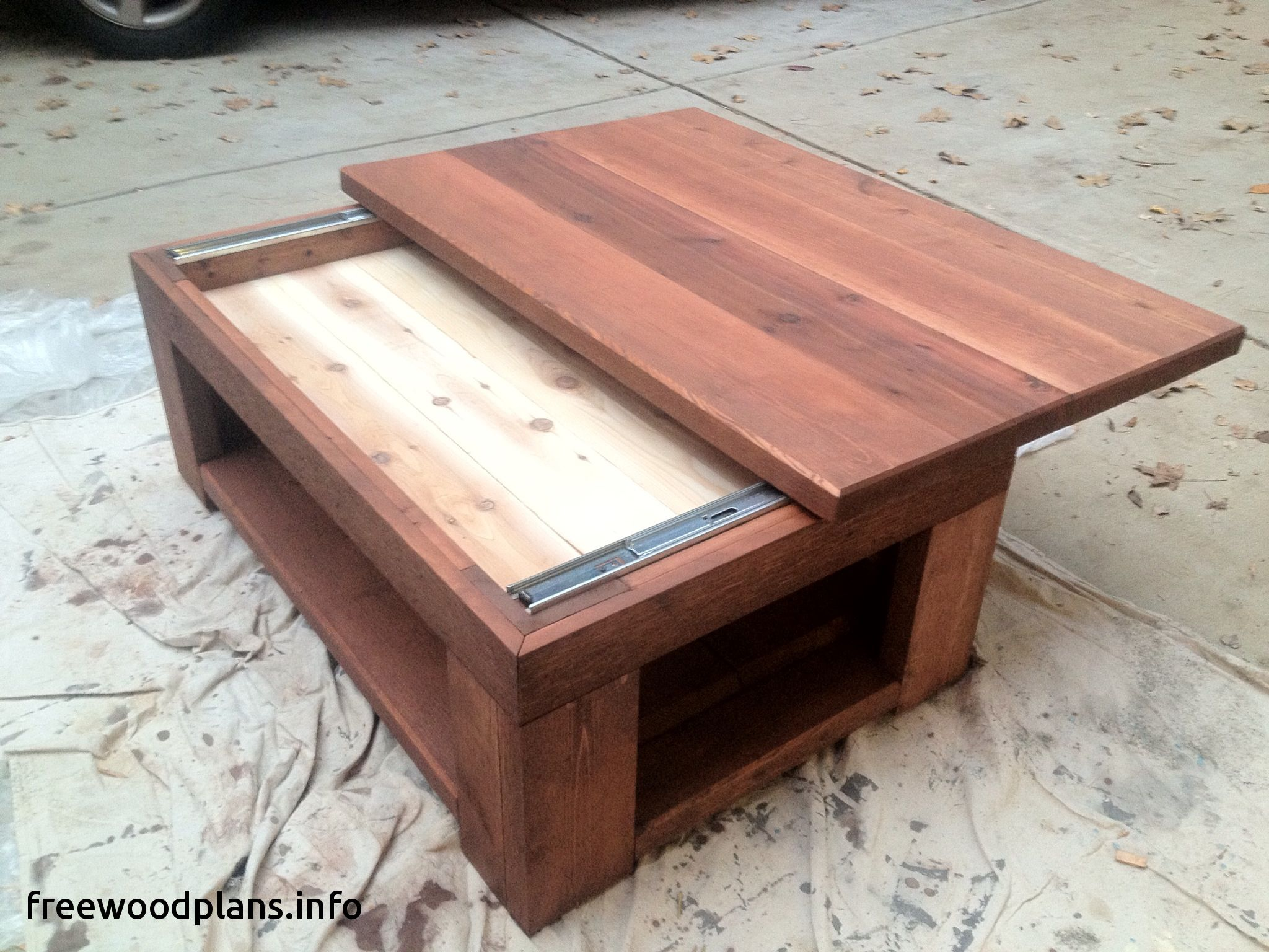 28 Woodworking Plans With Hidden Compartments 2019 Coffee Table