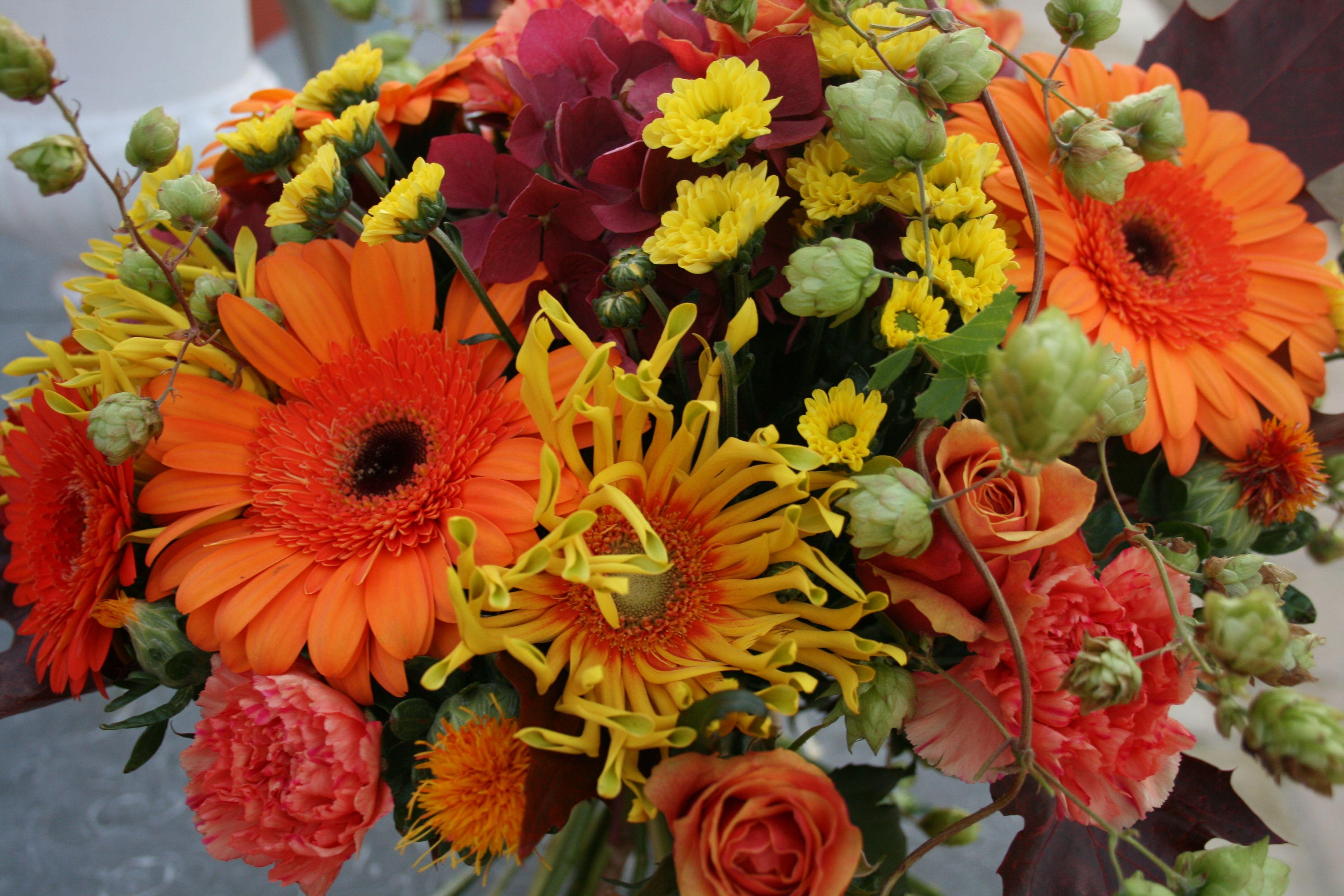 A Beautiful Autumn Bouquet