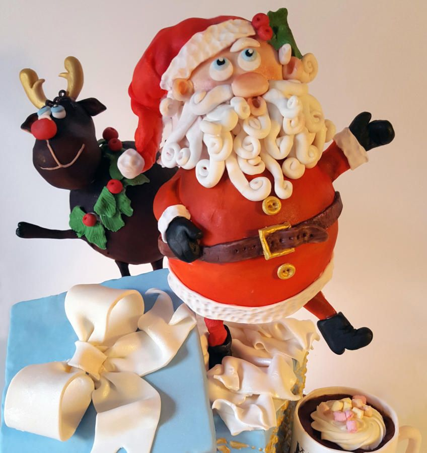 Christmas is Coming! - Cake by Domnaki's