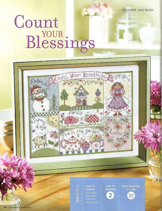 Count Your Blessings Cr Free Pattern Posted On The