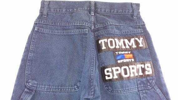 Tommy Sports #Hilfiger Jeans Mens SZ 28 Dark Blue 30 x 29 Actual http://etsy.me/1FDlsvX #etsy #etsyfind #tommyhilfiger #vintage