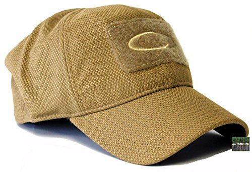a83d95cf530 Oakley Men s SI MK 2 Mod 1 Standard Issue Tactical Fitted Hat Cap - Coyote  Large