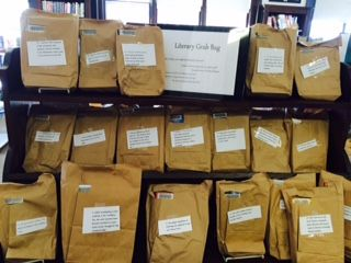 March 2015 is our Literary Grab Bag/Blind Date with a book month! Pick up one of our books with only a small hint as to what it is about and perhaps you will find a new favorite! Only available at the Bigelow Free Public Library in Clinton, MA