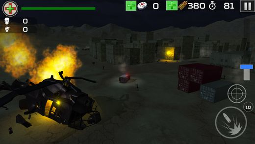 Zombie Hunter Aim Desert Town Live on iOS and Android iOS