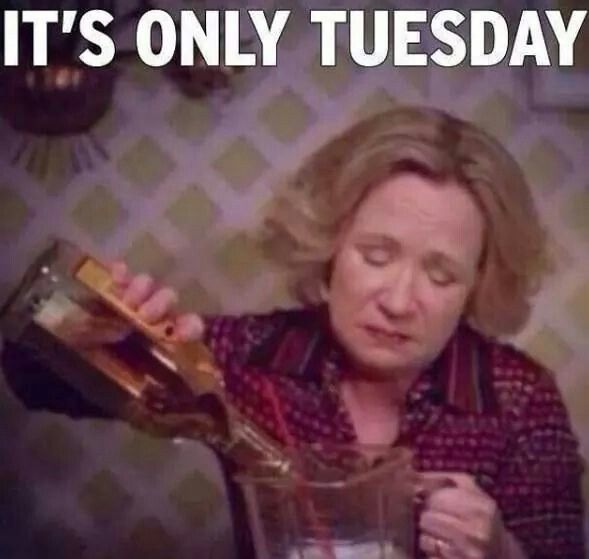 Funny Meme For Tuesday : Its only tuesday lol that s show haha kitty foreman