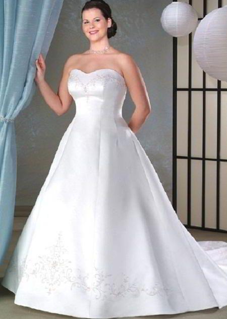 vestidos de novia para gorditas - Buscar con Google | vestidos de ...
