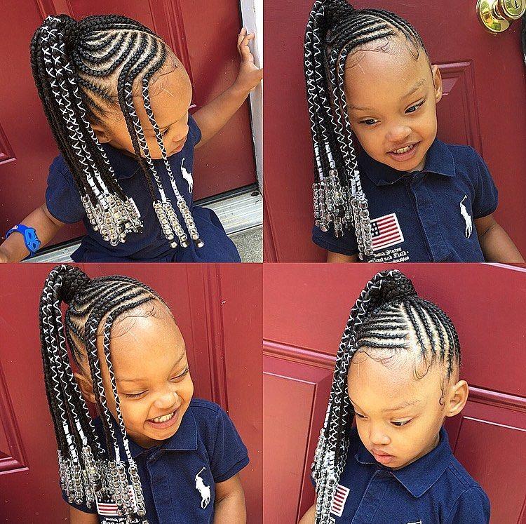 Tylica On Instagram Kids Braids Pony Kidsbraids Kidshairstyles Kid Black Kids Braids Hairstyles Kids Hairstyles Girls Kids Braided Hairstyles