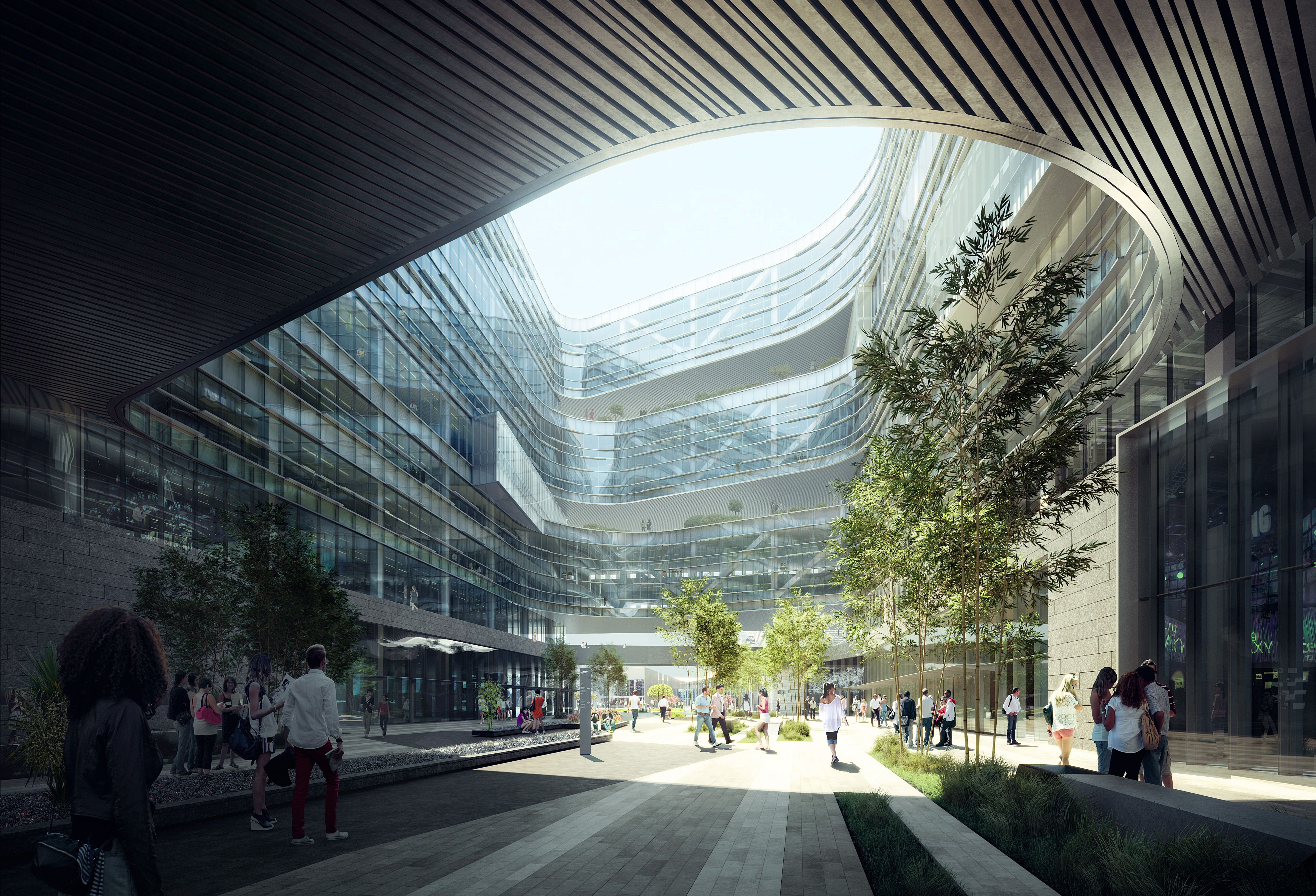 s Samsung s Giant New Silicon Valley HQ Is Almost plete