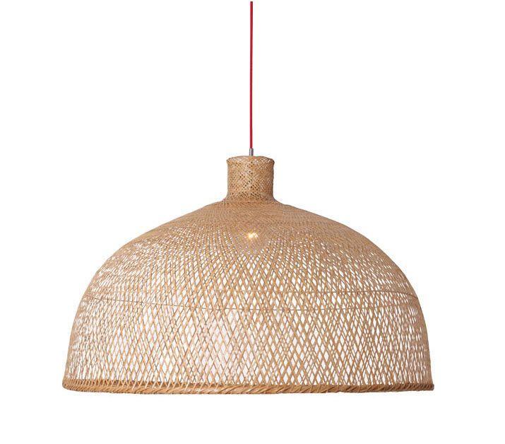 contemporary pendant lamp (wood) BAMBOO M1 : 301.101.1 AY ...