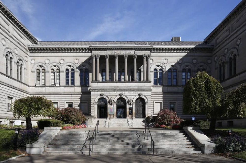 Historical Tours Of Main Library Carnegie Library Of Pittsburgh Carnegie Library Architecture Main Library