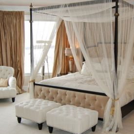 Master Bedroom With Canopy Bed Home Decorating Trends Homedit Traditional Bedroom Canopy Bedroom Romantic Bedroom Decor