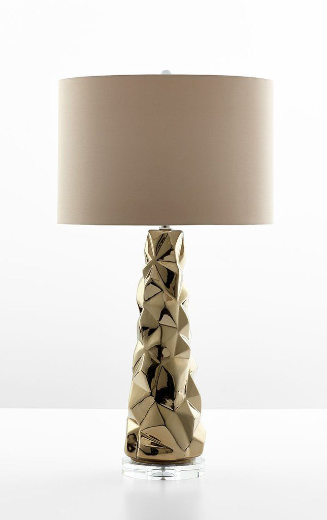 Everest Table Lamp Design By Cyan Design Gold Table Lamp Table Lamp Table Lamp Design