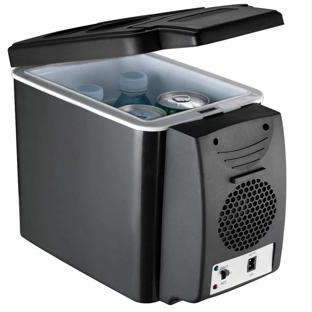 Portable 12V 6L Mini Electric Car Fridge Refrigerator Cooler Warmer Travel Box