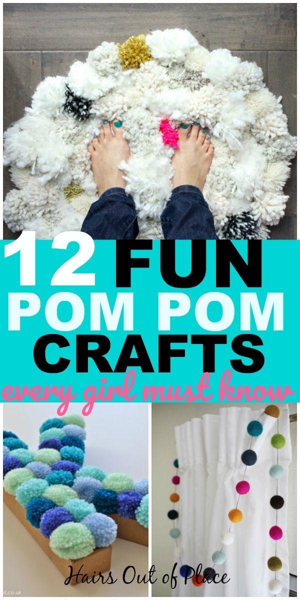 14 Fun Pom Pom Crafts for Adults