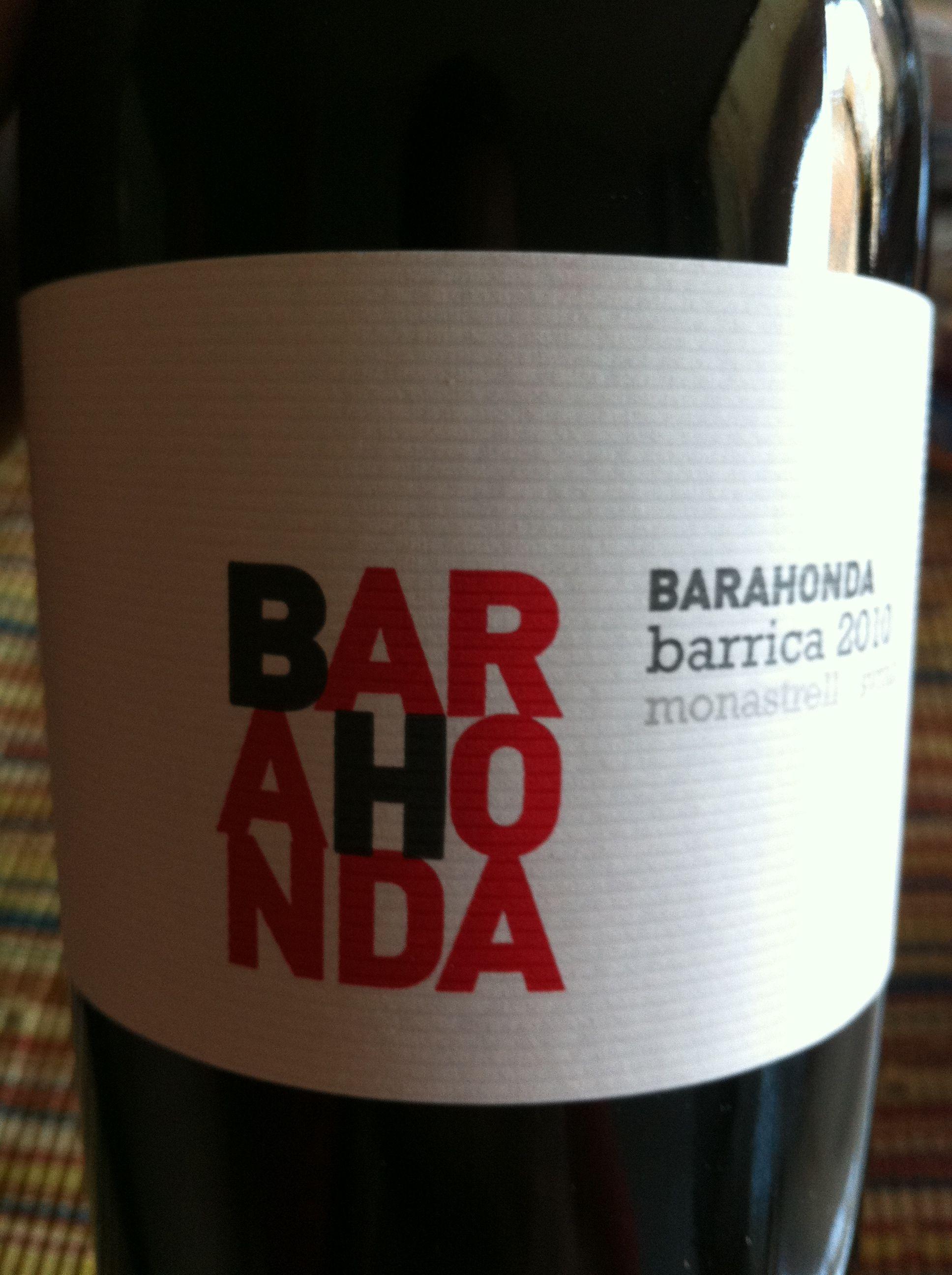Barahonda Barrica 2010