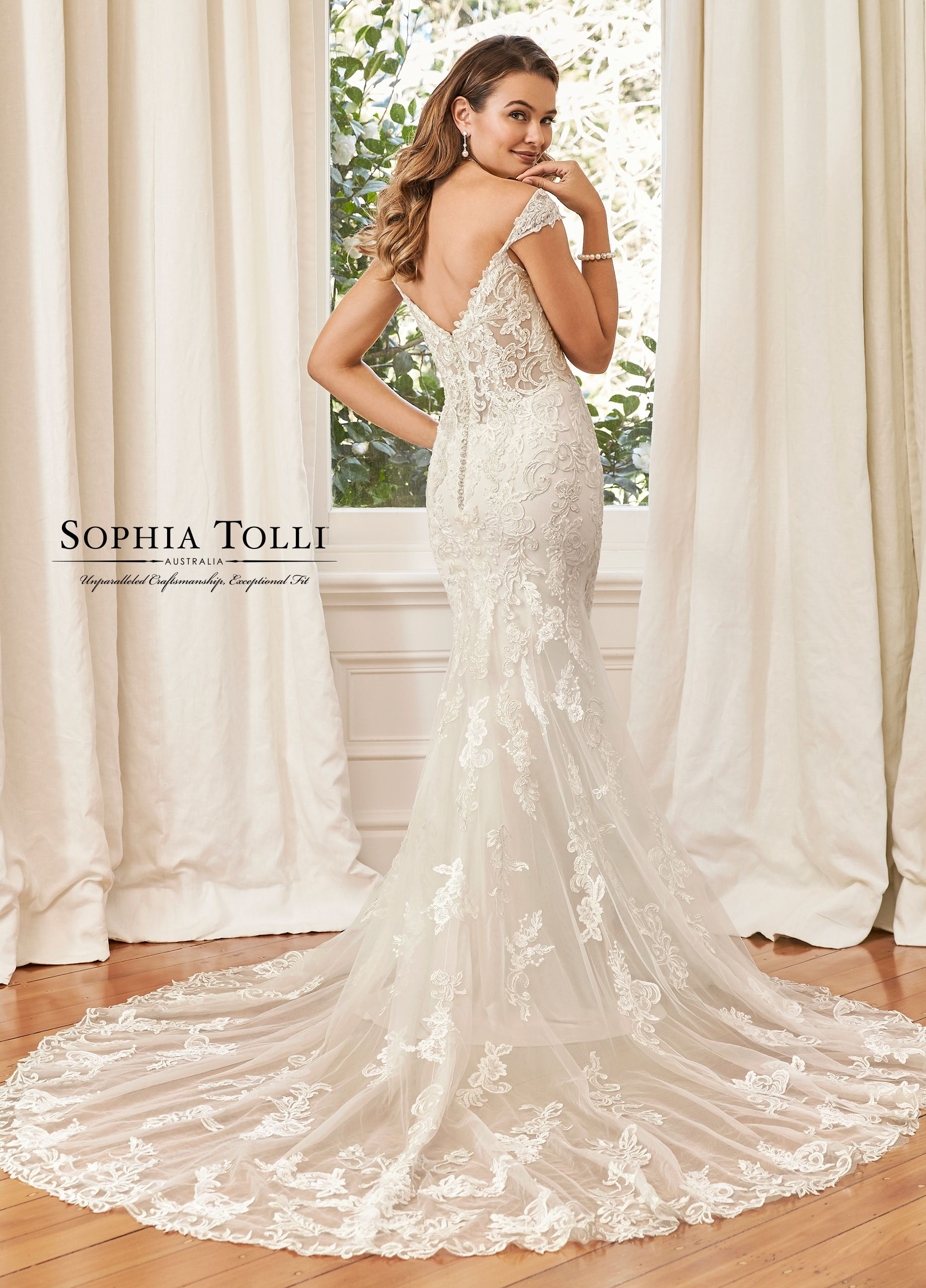 f9088a7abfb9 Sophia Tolli Y11954 Sahra - The opulent and fiery gown Sahra is seductive  perfection. Fit and flare silhouette with a stretch jersey base for  comfortable