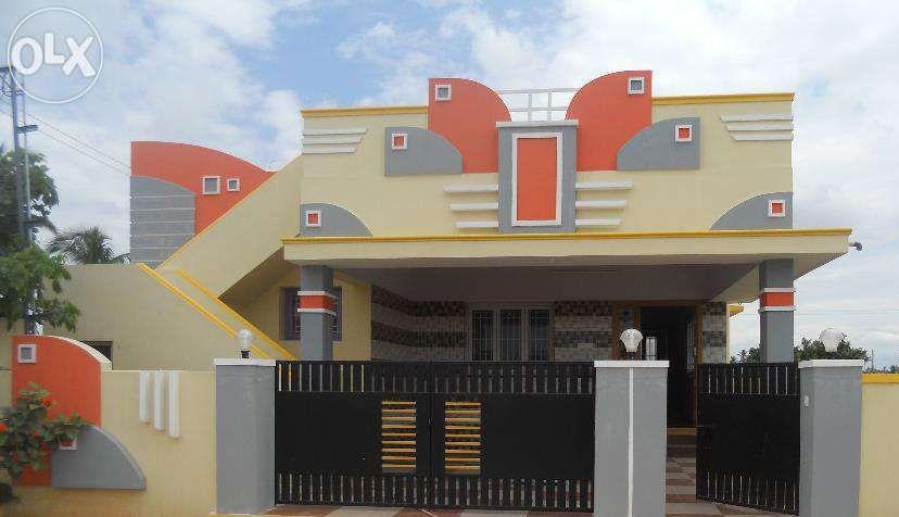 Coimbatore Facade House House Front Design Small House Front Design