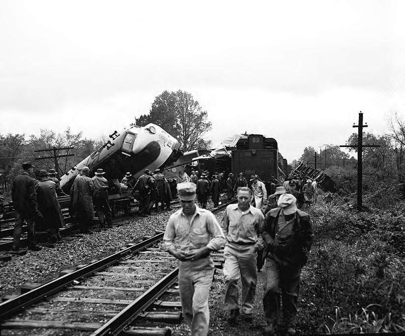 3 freight trains collide in Austell, GA on October 19, 1950 My