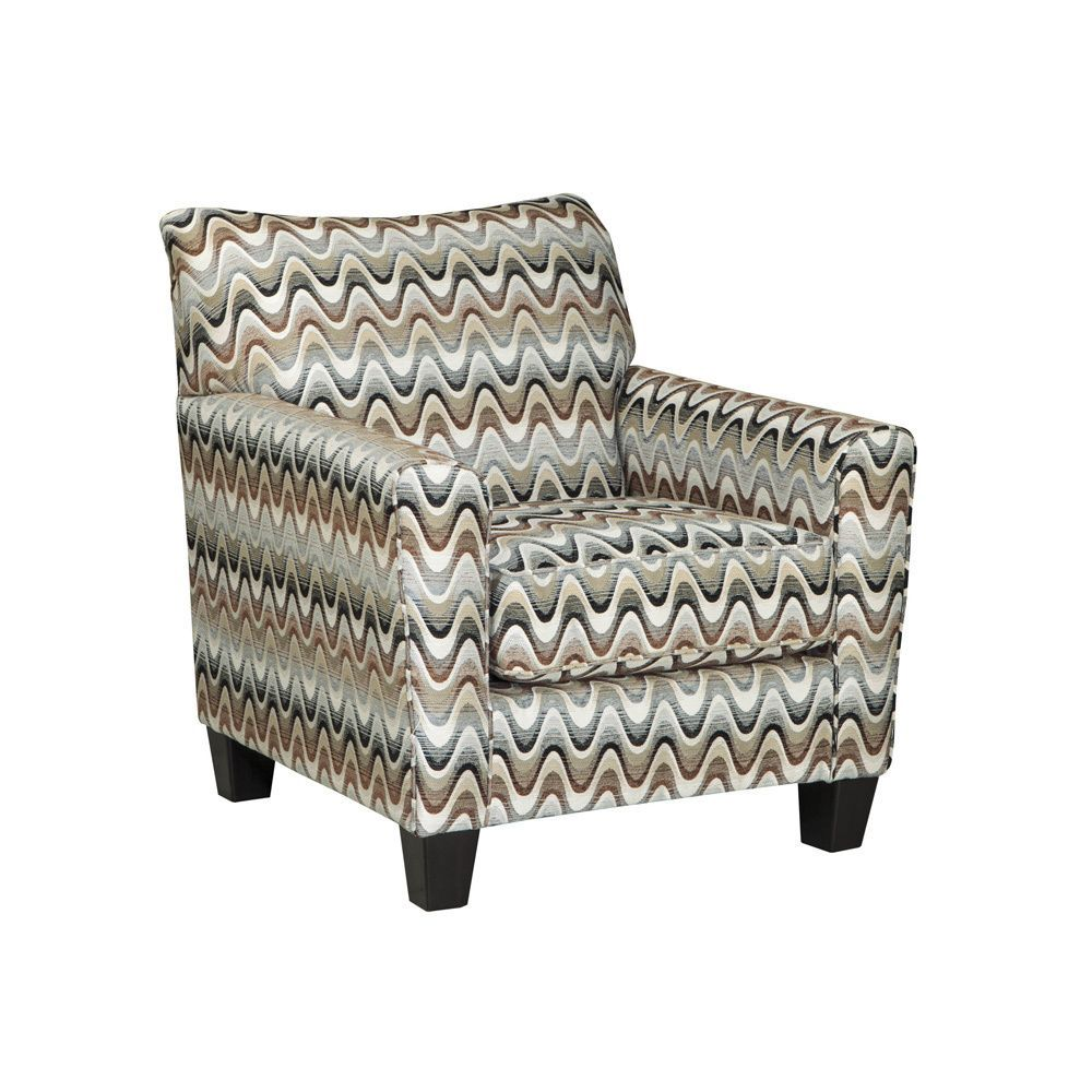 Signature Design by Ashley Gayler /White Accent Chair