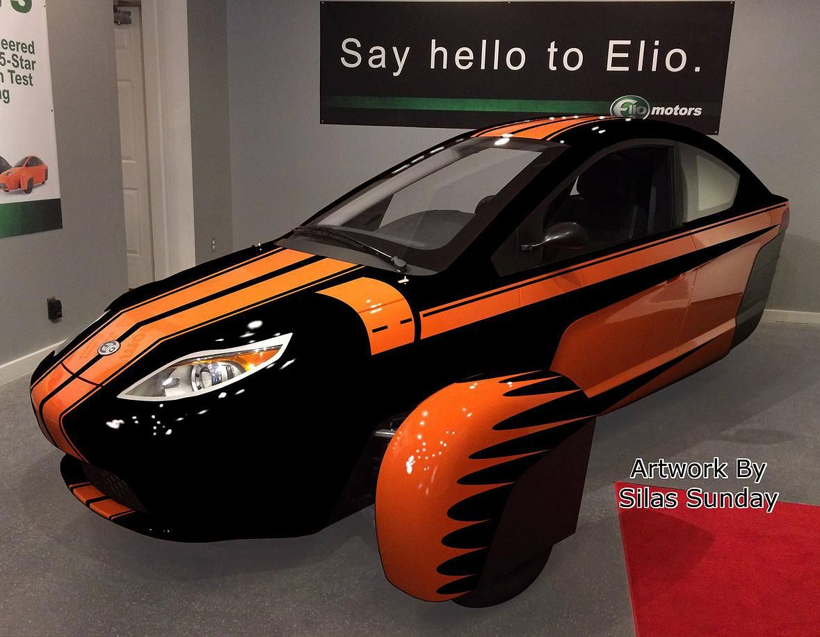 Elio in blue btw most of the colors are photoshopped for now the actual color tint may very once production starts elio motors pinterest cars