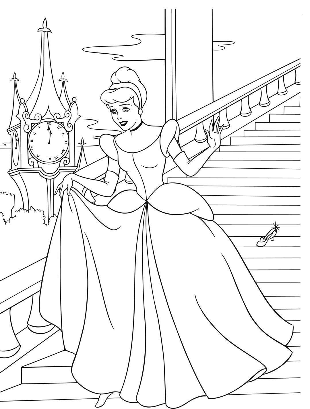 Kinder Malvorlagen Prinzessin - Kinder Ausmalbilder