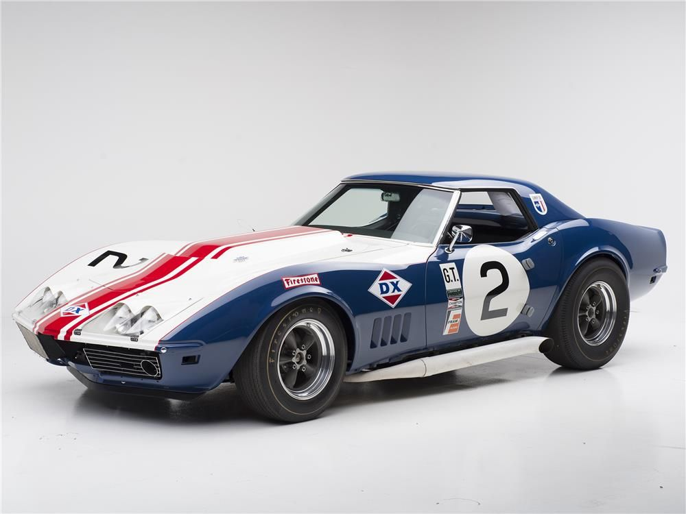 1968 chevrolet corvette convertible l88 race car barrett. Black Bedroom Furniture Sets. Home Design Ideas