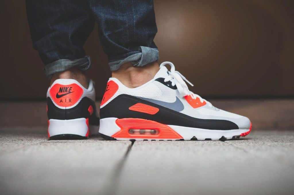 nike air max 90 infrared womens slippers