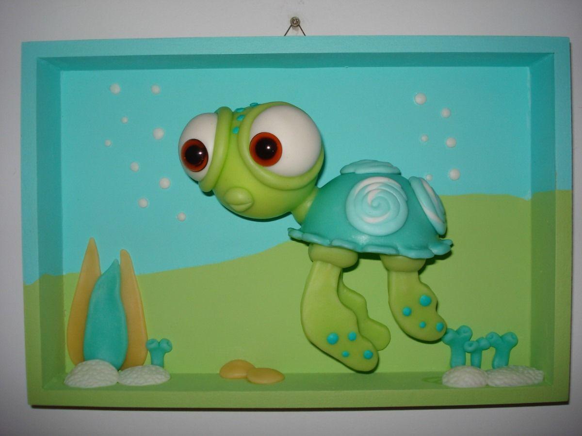 Cuadros Infantiles Porcelana Fría Decoración - $ 140,00 en ...