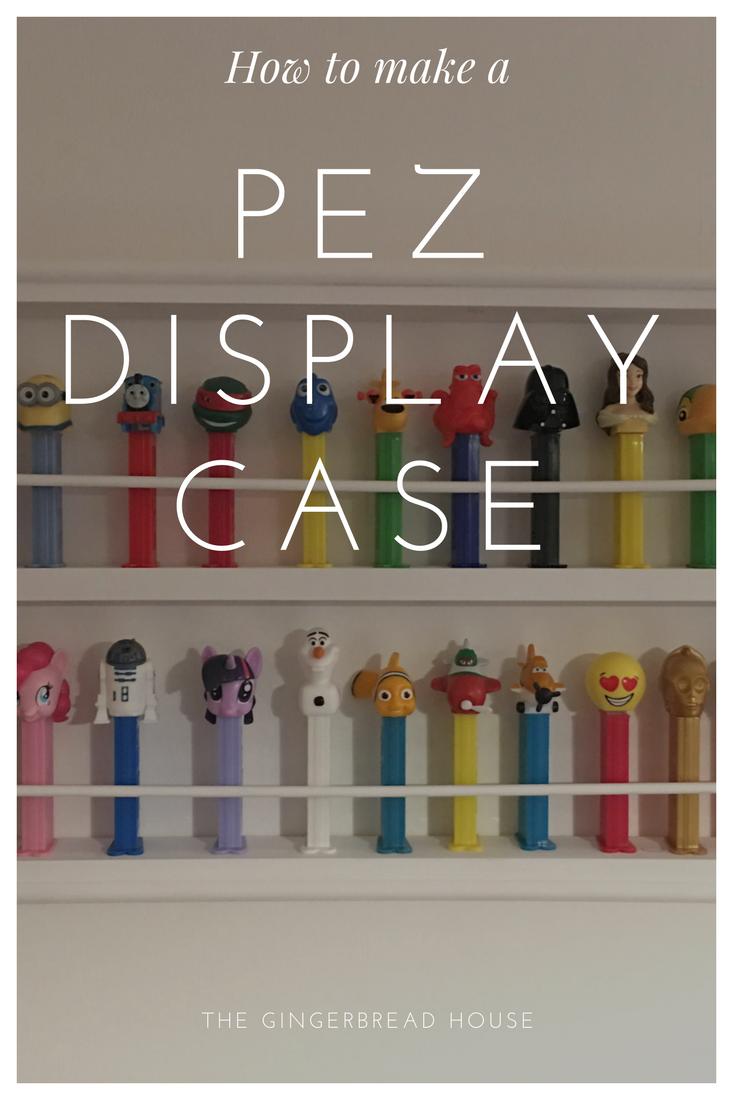 How To Make A Pez Display Case Display Case Display Display