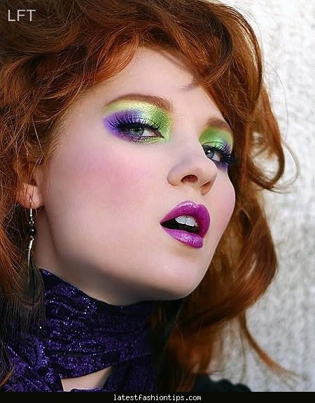 Makeup For 80 S Style With Images 80s Eye Makeup 80s Makeup