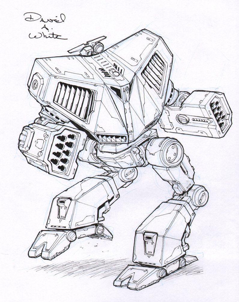 Battle Cobra Mech Sketch By Mecha Zone On Deviantart