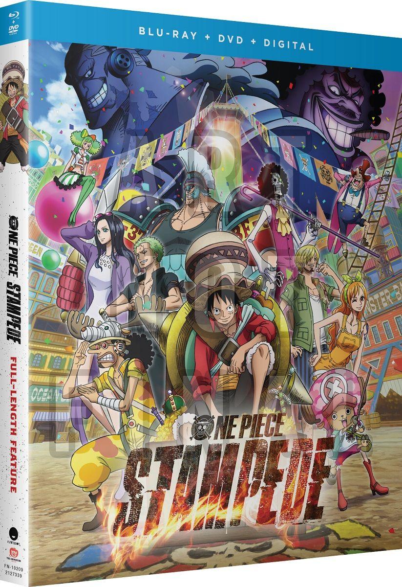 One Piece Film Stampede Blu-ray/DVD + GWP   Watch one piece, One piece, Movies online