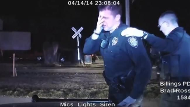 Us Cop Breaks Down After Shooting Dead Unarmed Suspect Officer Richard Ramirez Police Officer