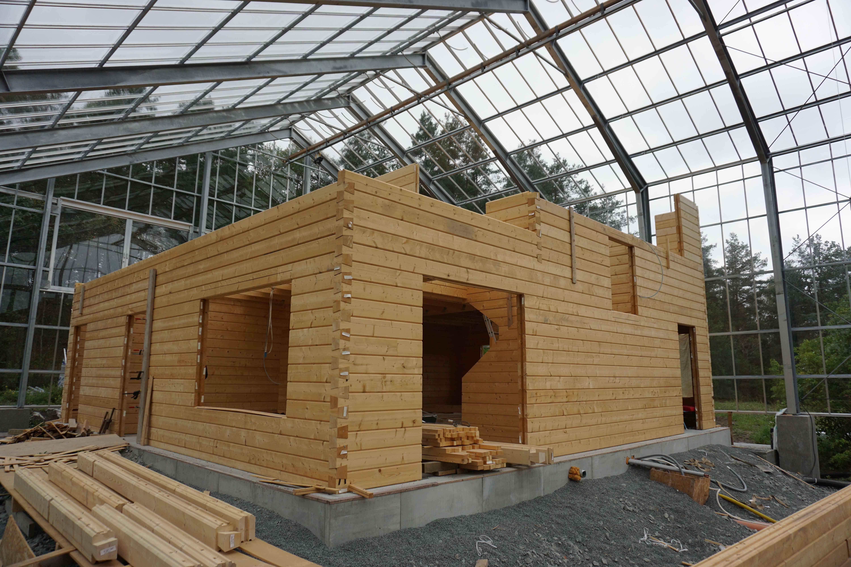 Sundby naturhus Glashaus, Haus, Architektur