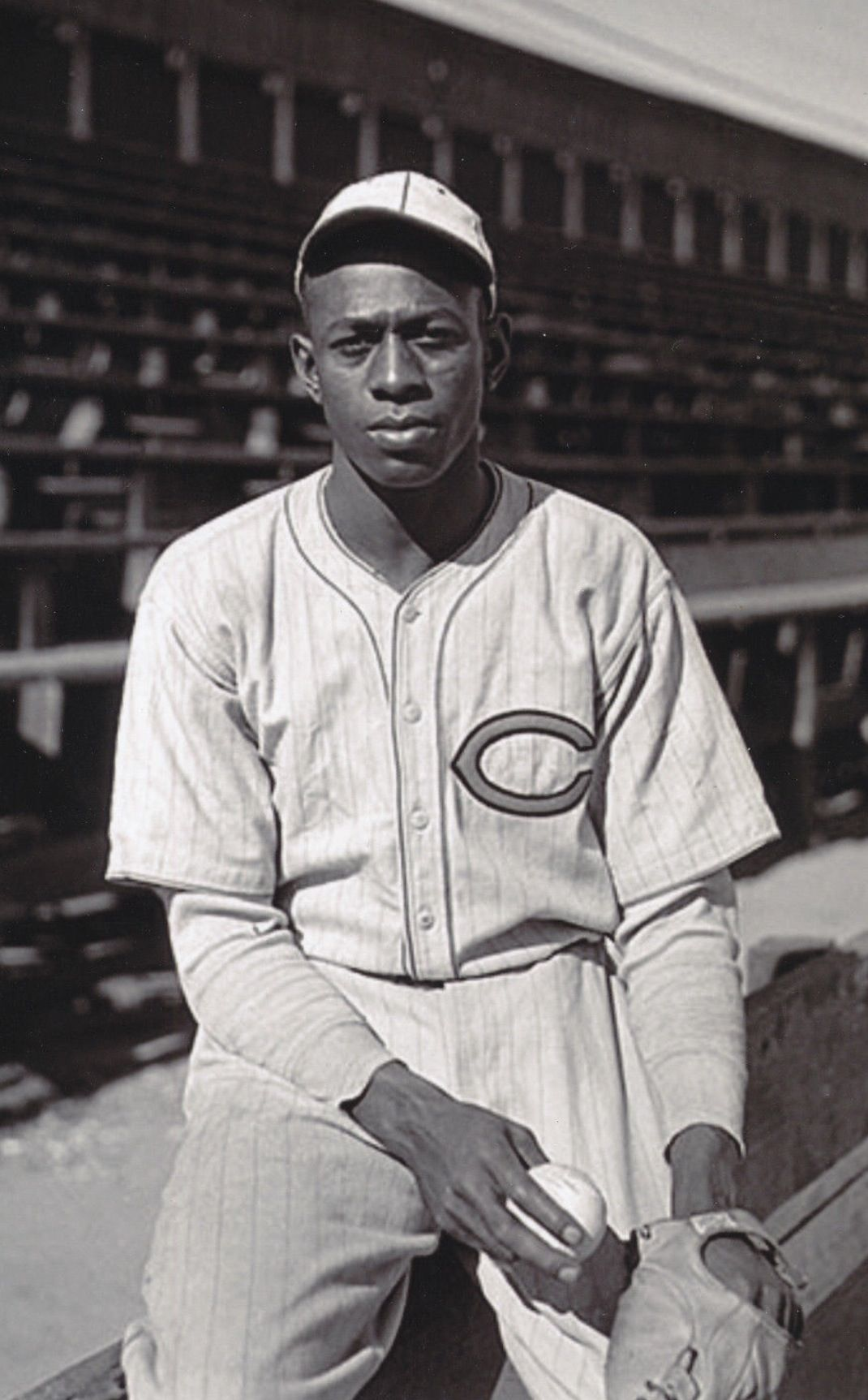 6687a0be3 Satchel Paige - Cleveland Cubs Baseball Star