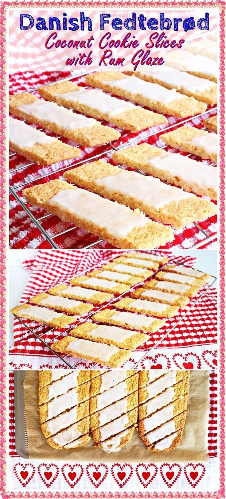Danish fedtebrd coconut cookie slices with rum glaze recipe danish fedtebrd coconut cookie slices with rum glaze coconut recipesbaking recipescookie recipesdessert recipeseasy forumfinder Gallery