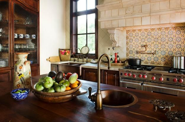 The 25 Best Mediterranean Style Kitchen Designs Ideas On Pinterest