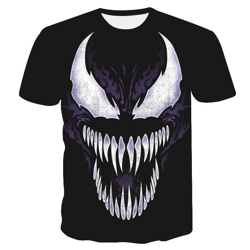 Venom 3D Printed T-shirts Men Casual Shirt Short Sleeve Fitness T Shirt  Male Crossfit Tops Weight lifting Base Layer 5dc78c53d89c