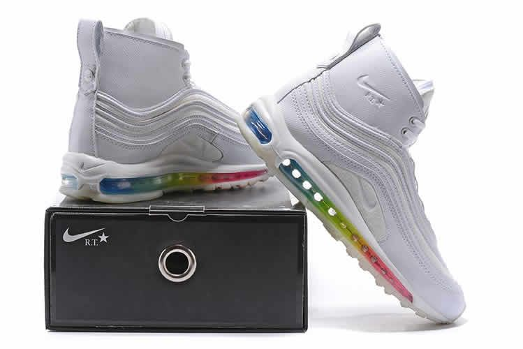 reputable site 5ef42 c473a Riccardo Tisci x NikeLab Air Max 97 Mid RT White Colorful. Find this Pin  and more on Nike air max shoes ...