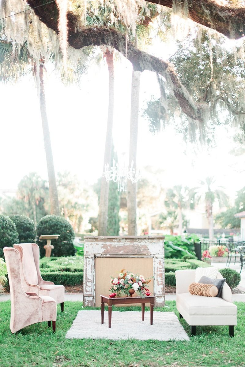 Garden wedding reception decor  Elegant Garden Wedding Ideas  Garden weddings Weddings and Wedding