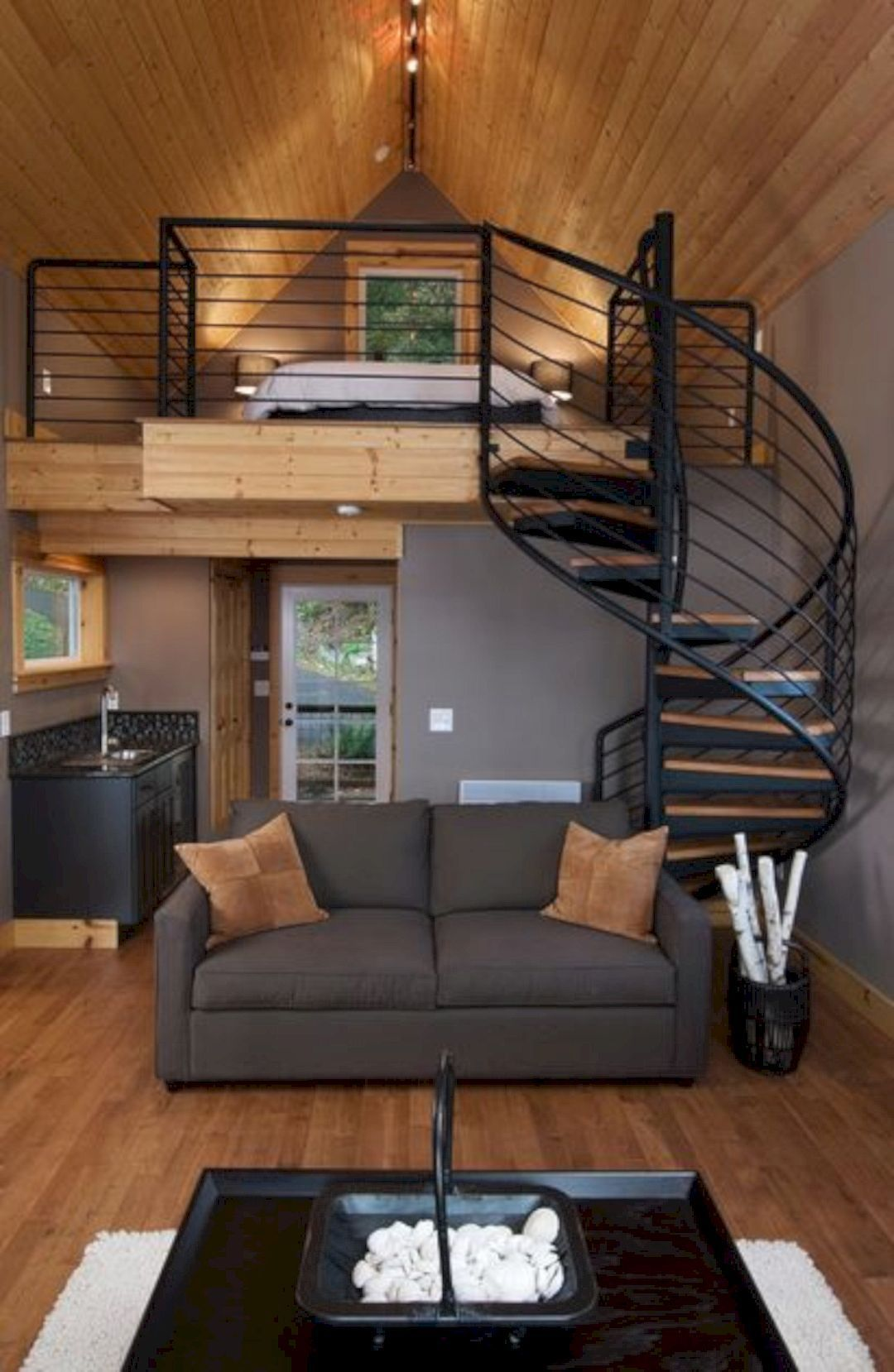 15 Amazing Interior Design Ideas For Modern Loft Tiny House Interior Design Tiny House Living Tiny House Design