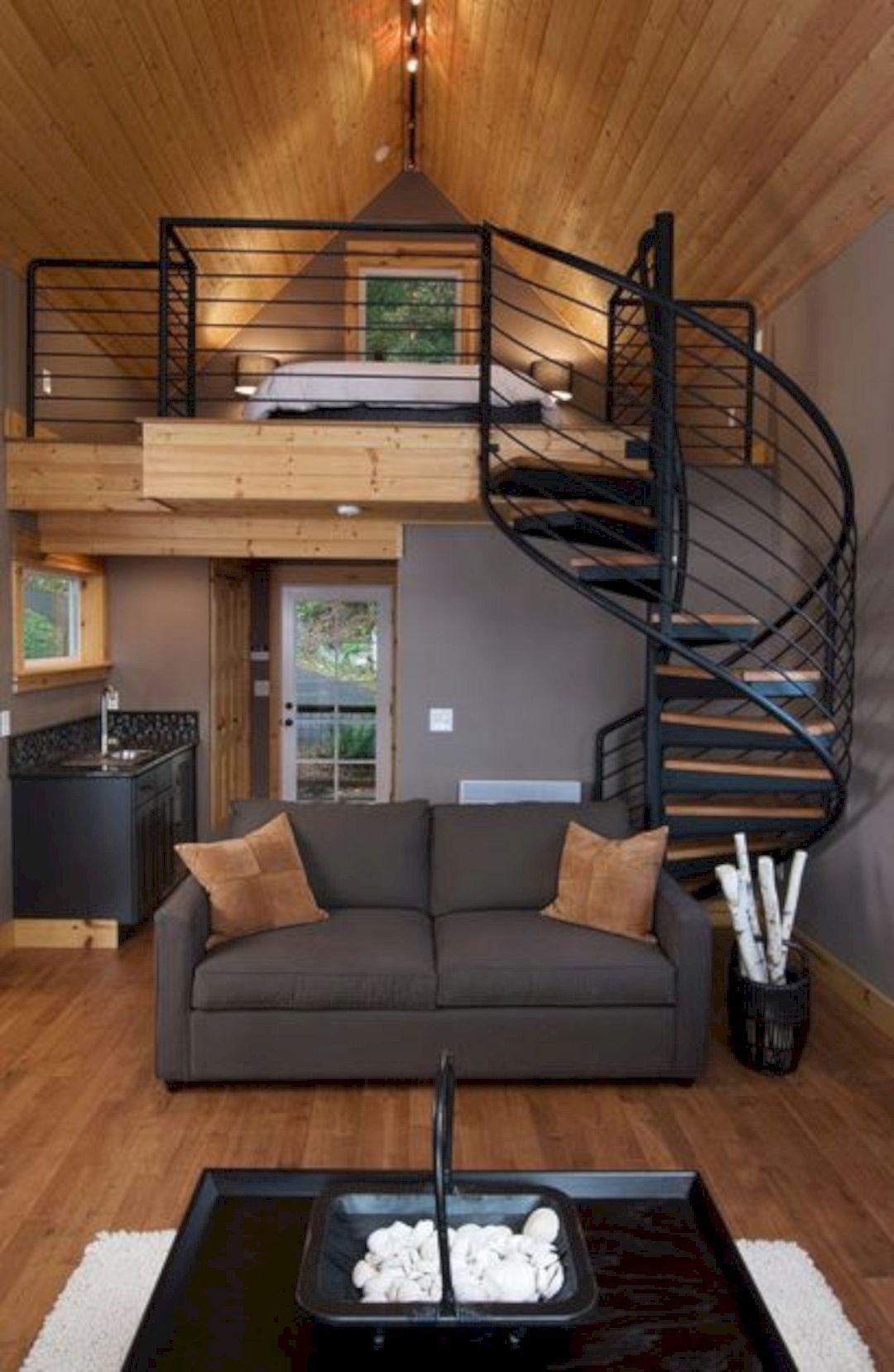 15 Amazing Interior Design Ideas For Modern Loft Tiny House
