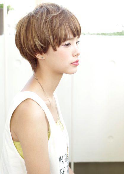 大人可愛いマッシュショート Acqua Omotesandoのヘアスタイル ヘア