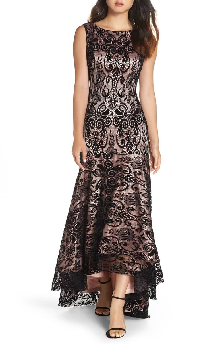 28efdc28bcbc High Low Lace Gown affiliatelink