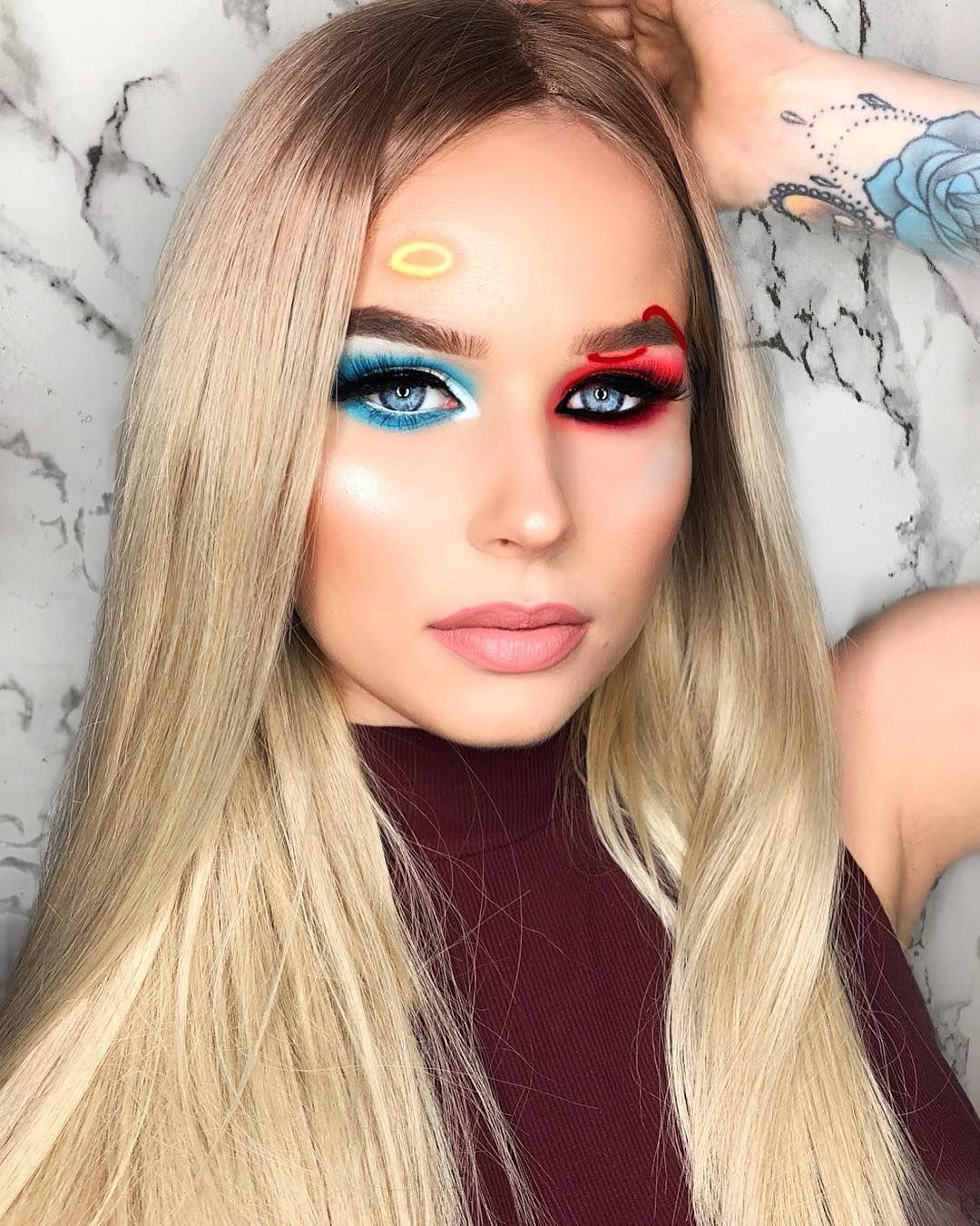 Pinterest selfcareoverload Halloween makeup inspiration