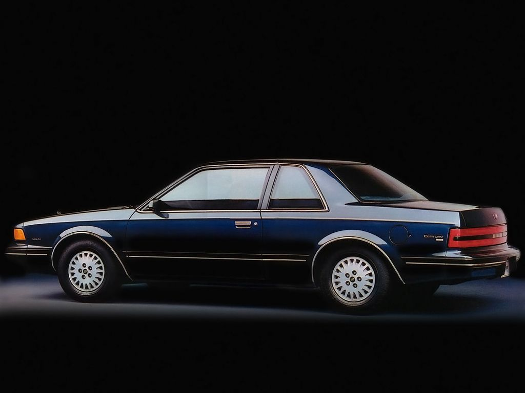 1989 buick century custom coupe buick 1981 1993. Black Bedroom Furniture Sets. Home Design Ideas