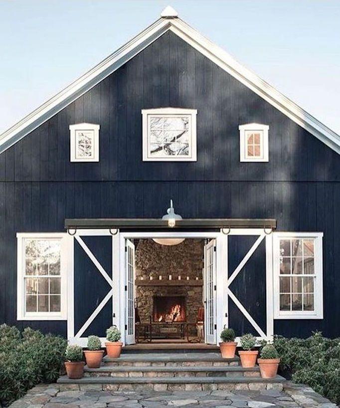 Favorite Home Exteriors Of 2016 Becki Owens Barn House Metal Building Homes Pole Barn Homes